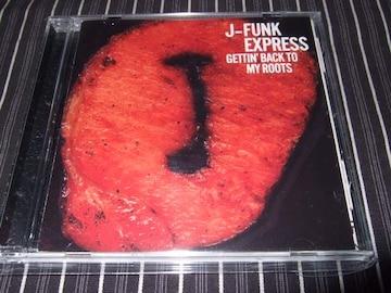 J-FUNK EXPRESS『GETTIN' BACK~』廃盤良好(JB'S,ROUTINE,小林径)