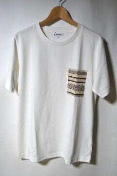 新品 グローバルワーク ポケットTシャツ 半袖 ホワイト メンズ L