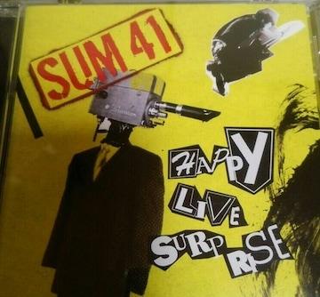 CD SUM41 ライヴベスト ハッピーライヴサプライズ 帯あり 国内盤