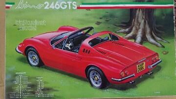 フジミ1/27 フェラーリ Dino 246GTS エンスージアスト