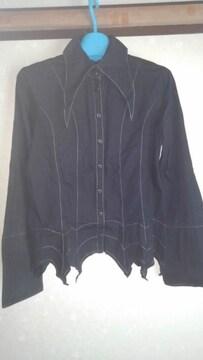 ピースナウPEACEMOW裾が変わっているシャツ