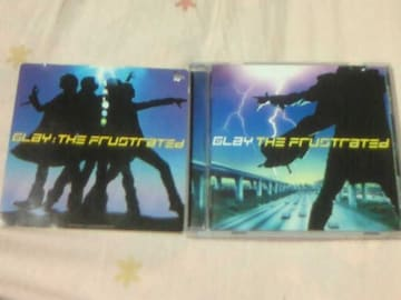 CD GLAY アルバム THE FRUSTRATED