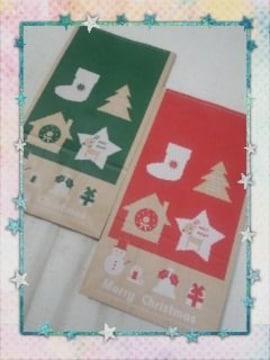 ■クリスマス■マチ付袋(大)ノエル10枚