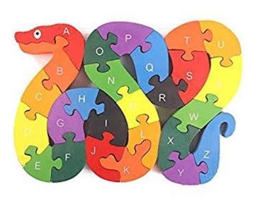 WONZOM 積み木 パズル 26ピース 知育 玩具 幼児 子供 教育 教材