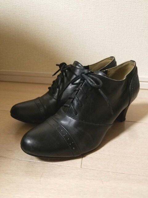 ☆送料無料☆Nissen☆4E/オックスフォード☆ショートブーツ/ブーティ☆25.5cm☆  < 女性ファッションの