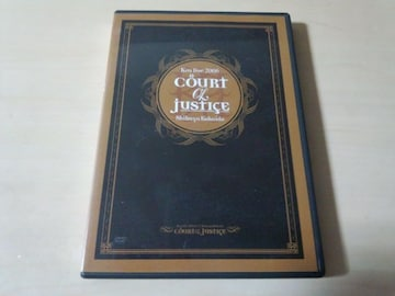Kra DVD「COURT of JUSTICE Kra live 2006.12.27渋谷公会堂」V系