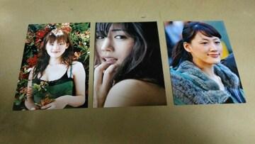 ★綾瀬はるか★ L判フォト写真(生写真)・10枚セット。