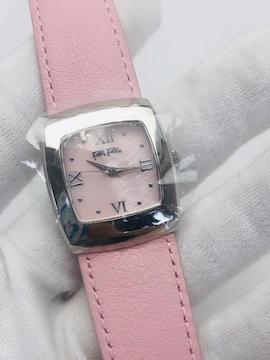 S123 フォリフォリ 腕時計 ピンク クオーツ 動作品