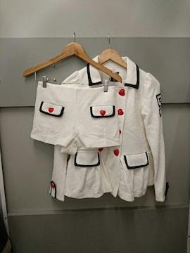 one spo☆ハートボタンセットアップ