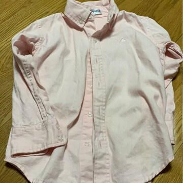 スキップランド☆ピンクシンプルシャツ★サイズ110