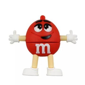 エムアンドエムズ m&m's 赤 USBメモリ16GB