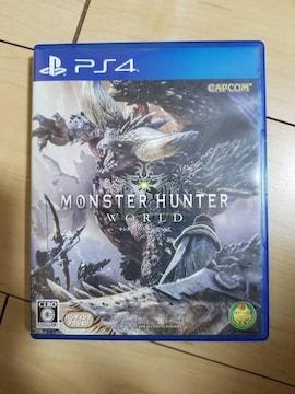 送料込 モンスターハンターワールド PS4
