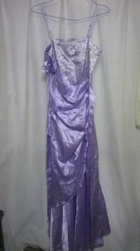 薄紫ドレス