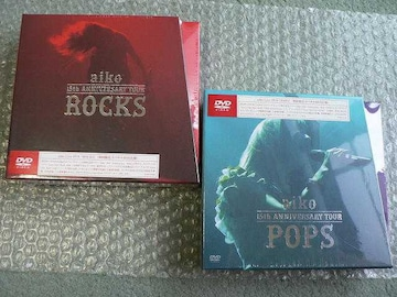 ★新品★aiko/15th Anniversary【POPS+ROCKS】初回盤2枚set/4DVD