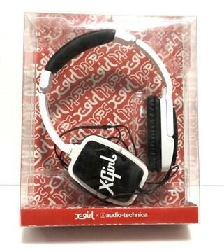 X-GIRL × audio-technica エックスガール ヘッドホン