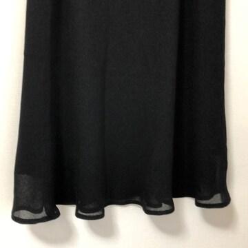真っ黒ロングスカート 2Lサイズ 送料無料
