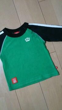 中古シンプルロンT80緑×黒ベビードールBABYDOLLベビド
