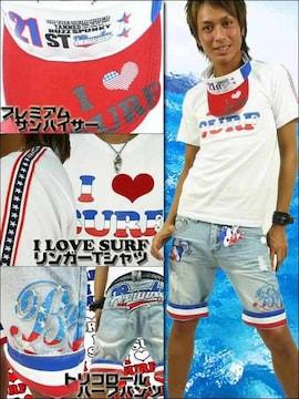 BUZZSPUNKY バズスパンキーI LOVE SURF3点SET/M