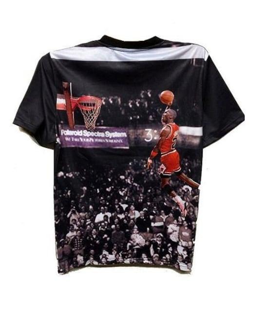 セール新品送込ジョーダンjordan★ラストゲーム限定ナイロンデザインTシャツXL < 男性ファッションの