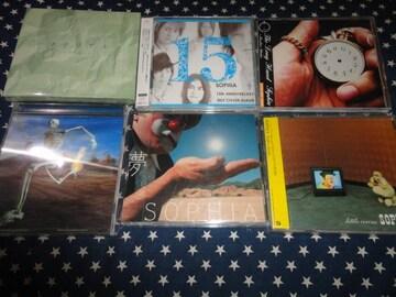 SOPHIA『マテリアル』『15』などアルバム6枚セット 初回盤