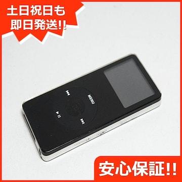 ●安心保証 ●美品●iPOD nano 第1世代 4GB ブラックMA107LL●