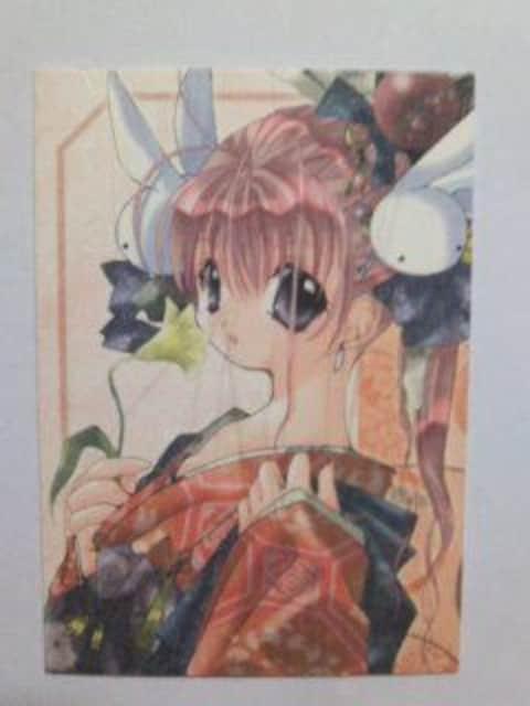 ぴたテン トレカ 花魁風着物美紗 レア和紙カード035 コゲどんぼ 新品  < アニメ/コミック/キャラクターの