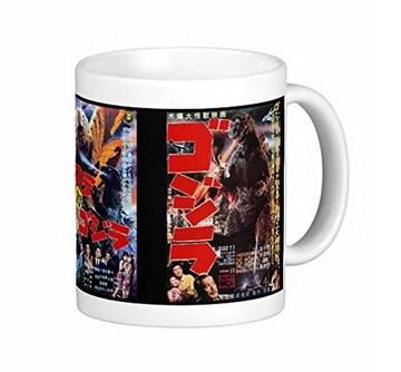 『 ゴジラのポスター 3種 』のマグカップ