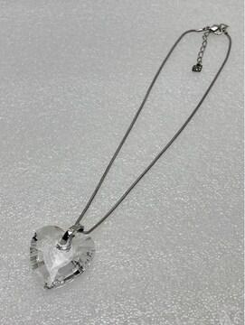 N088 スワロフスキー ネックレス ペンダント クリスタル 超大粒