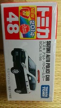 トミカ 旧48 スズキ アルト パトロールカー 未開封 新品 販売終了品 初回箱