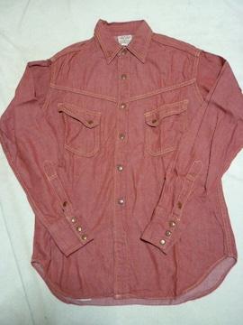 リアルマッコイズJOE McCOY ウェスタンシャツ50's