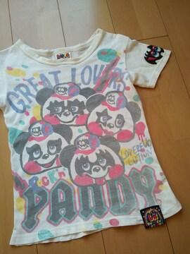 難あり LoveRevolutionラブレボリューション130パンディTシャツ