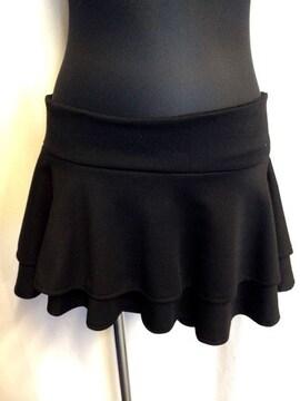 新品☆ショーパン付きフレアスカート☆ミニスカート☆
