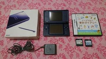 任天堂DS lite/本体+ソフト2点セット/家計簿ダイアリー