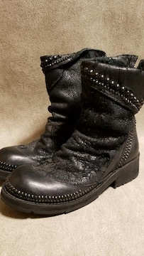 KMRIIケムリ  CRACKING CRUSH JET BOOTS 2