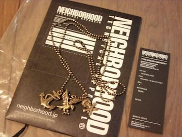 新品NEIGHBORHOODネイバーフッド3連ネックレススカルイーグル