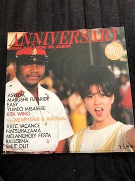 ANNIVERSARY LPレコード
