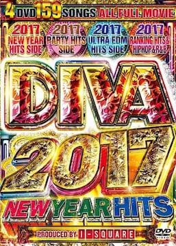 ♪送料無料♪ DIVA 2017 NEW YEAR HITS 4枚組♪