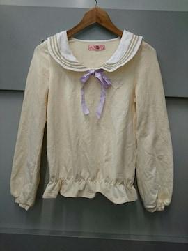 Ank Rouge☆セーラー襟長袖プルオーバー