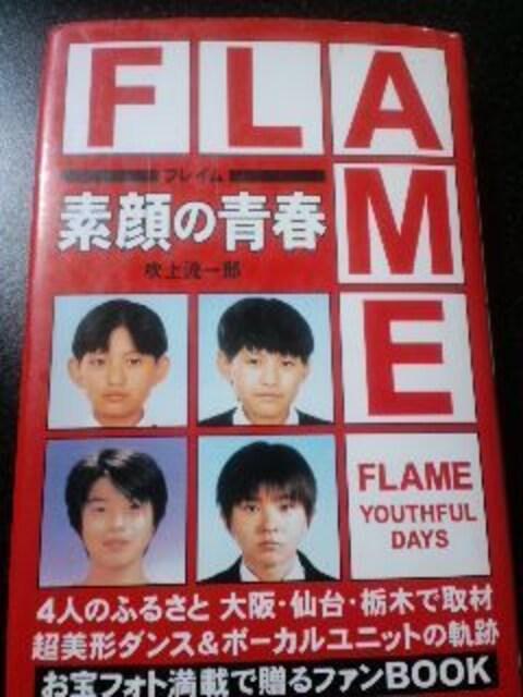 絶版【FLAME】素顔の青春・フレイム  < タレントグッズの