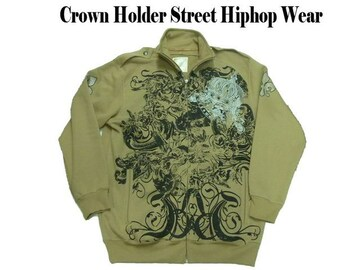 XXL (2XL)50%OFF新品クラウンホールダージップジャケット CROWNHOLDER