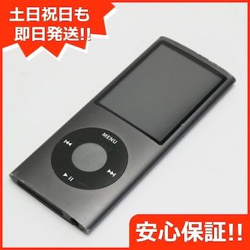 ▲安心保証▲中古▲iPOD nano 第4世代 8GB ブラック▲
