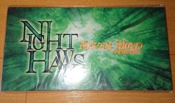 【廃盤新品】NIGHT HAWKS「NEVER MIND〜今を信じれば」☆