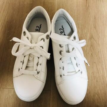◆キレイで可愛いスニーカー 新品未着用