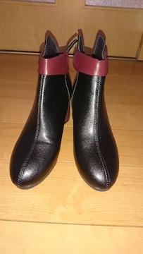 JUVIA ショートブーツ*疲れにくい*23〜23.5cm