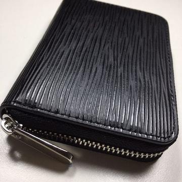 新品 ドイツタンナーの本革 牛革 ミニ財布 ラウンドファスナー