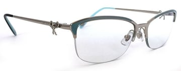 未使用正規ティファニーメガネ眼鏡メガネフレームリボンTF