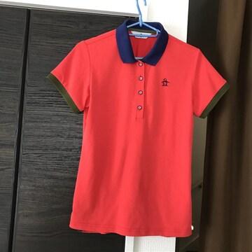 マンシングウェアmunsingwear半袖ポロシャツ着丈60身幅40ゴルフ