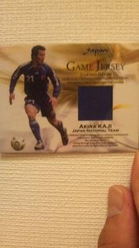 2006 日本代表 加地 亮 ジャージカード