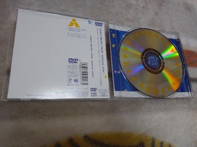 """*☆安室奈美恵☆TOUR """"GENIUS 2000"""" DVD♪ < タレントグッズの"""