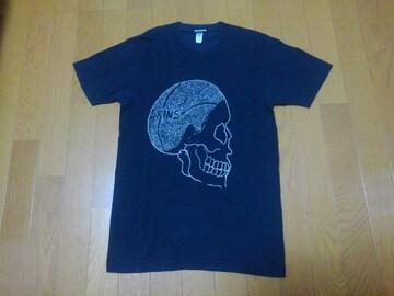 Don Ed Hardy/エドハーディ★スキンズ半袖Tシャツ★サイズS★ブラック
